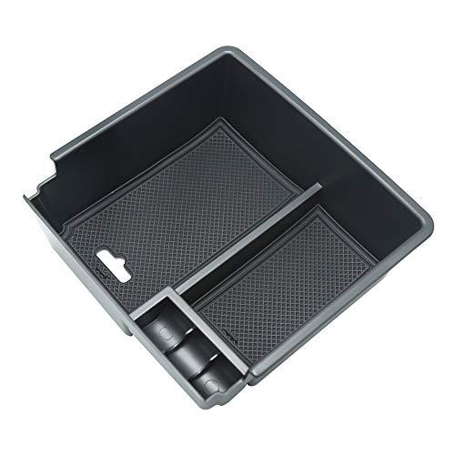 Caja de almacenamiento para consola central, reposabrazos y consola central, organizador para Ford Ranger 2015 2016 2017 2018