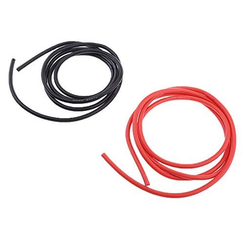 BDZC Yate Temperatura electrónica de Cable electrónico de Cable Flexible de 3 Metros 10AWG Antiséptico