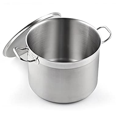 Cooks Standard 20 quart Stainless Steel Professional Grade Stockpot with Lid