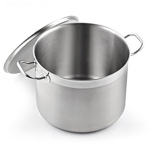 Cooks Standard Classic stockpot, 20 Quart, Stainless Steel
