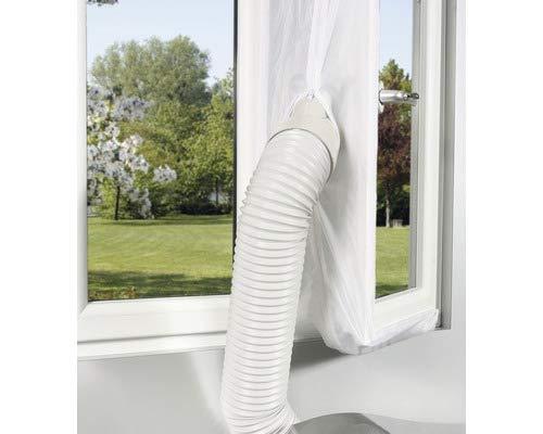 Guarnizione per finestre per climatizzatore mobile Pego, bianco, 300 x 40 cm, da applicare su finestre, lucernari, finestre a battente