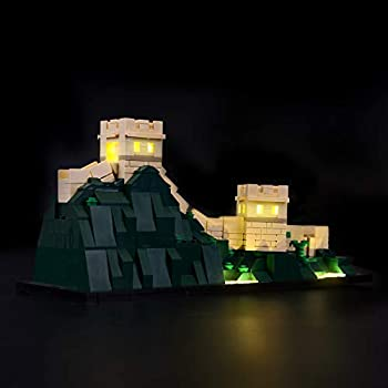BRIKSMAX Led Lighting Kit for Architecture Great Wall of China-Compatible with Lego 21041 Building Blocks Model- Not Include The Lego Set