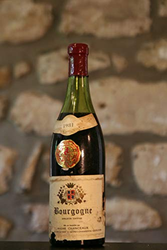 Rotwein, Domaine Andre Chanceaux 1981