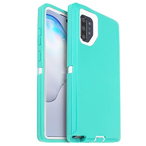 AICase for Galaxy Note 10 Plus Case, Drop Protection Full Body Rugged Heavy Duty Case with Screen Protector, Shockproof/Drop/Dust Proof 3-Layer Protective Cover for Samsung Galaxy Note 10 Plus