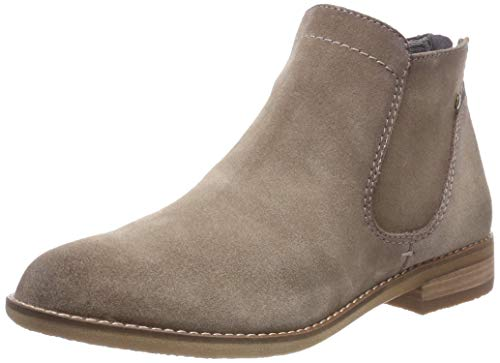 Be Natural Damen 25422-21 Stiefeletten, Beige (Taupe 341), 37 EU