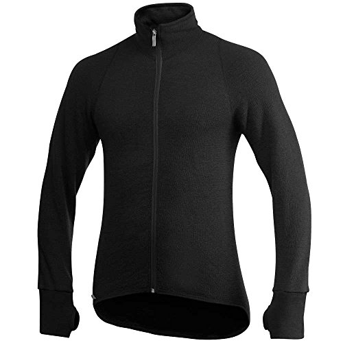 Woolpower 400 Jacket Men - Midlayer Merino Jacke,black,M
