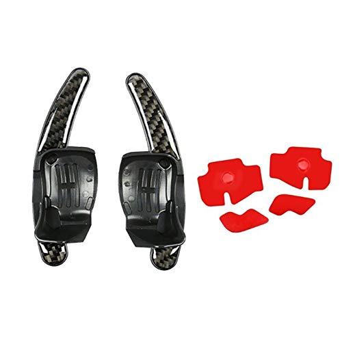 Padillas de cambio Rueda de automóvil Mayúscula de remolque Extensión de remo Auto Directo Equipo de cambio para Golf MK6 R20 CC R36 Accesorios de piezas de automóviles (Color : Carbon fiber)