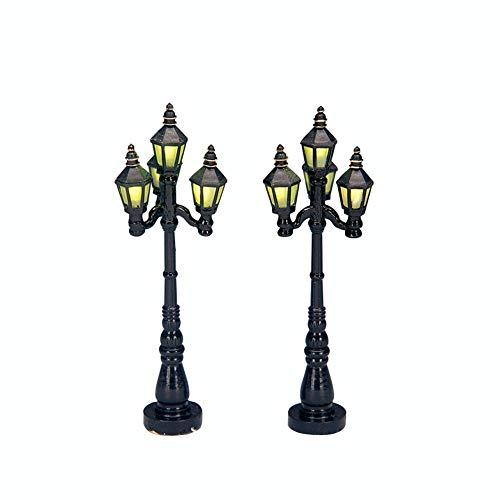 Lemax Christmas - Old English Street Lamp Set of 2 B/O (4.5V) (34902)