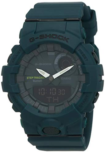 Casio G-Shock Analog-Digital Green Dial Men's Watch - GBA-800-3ADR (G834)