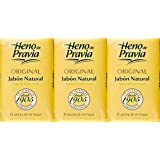 Bath Soap by Heno De Pravia | All Natural Bath Soap with an Amazing Memorable Clean Fragrance. Value Saving 3-Pack by Heno De Pravia; 3-Bars of 4oz Soap