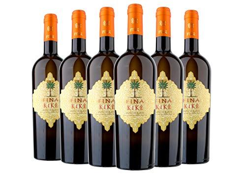 Terre Siciliane IGT Traminer Aromatico Sauvignon Blanc Kikè Cantine Fina 2020 6 bottiglie da 0,75 L