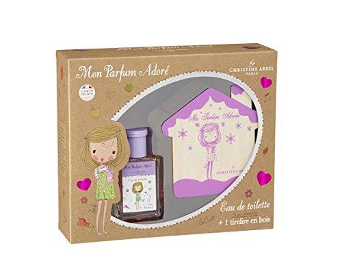 Christine Arbel Coffret Mon Parfum Adoré Jade Parfums Enfant avec 1 Tirelire Bois