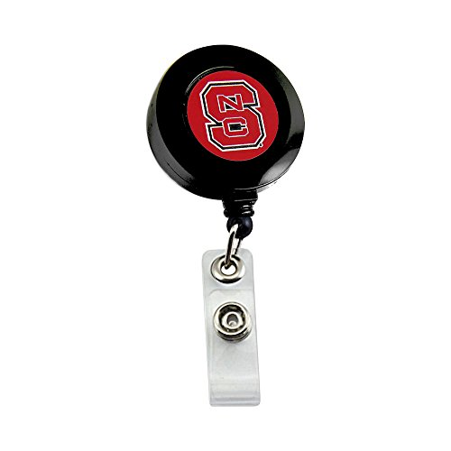 NC State Wolfpack Retractable Badge Reel Id Ticket Clip