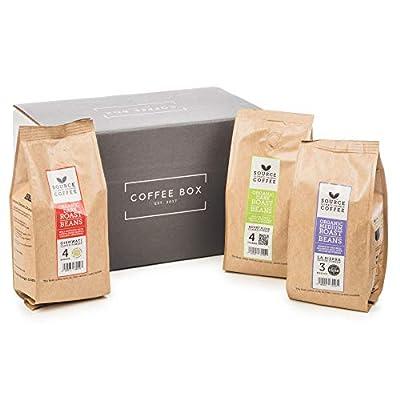 Discover Coffee Gift Set - Whole Bean Coffee Discovery (3X 227g - Tanzania, Uganda & Mexico)