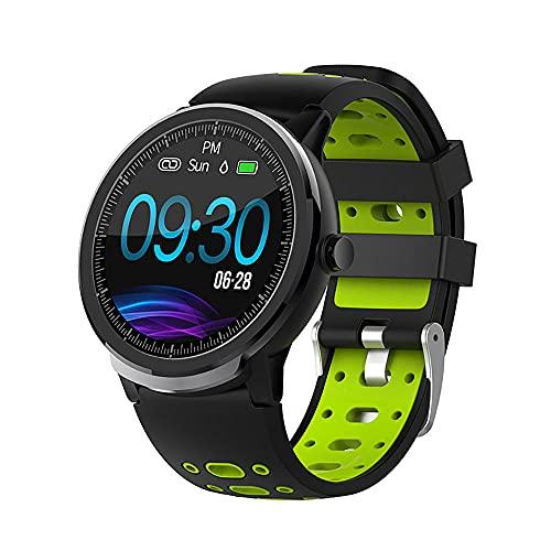 Reloj Inteligente Actividad Tracker 1.3 'Pantalla Táctil Fitness Reloj de Pulsera IP67 Impermeable Llamada SMS Recordatorio Bluetooth Salud Watch-C