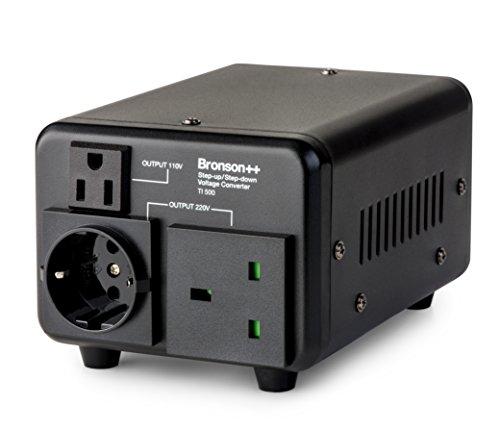 Bronson++ TI 500 - Trasformatore 110 Volt - Convertitore USA nucleo toroidale riduttore 500 Watt Bronson 110V 500W