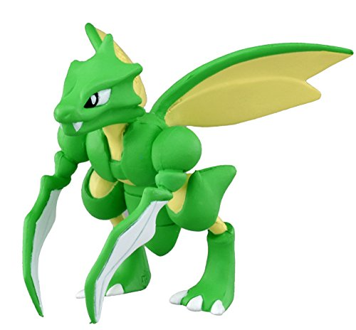TAKARA TOMY TakaraTomy Offizielles Pokemon X und Y mc-0545,1cm Scyther Action Figur