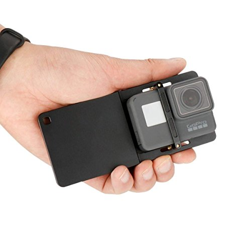 ULANZI Action Camera Adapter Aluminum Alloy Switch Mount Plate Solid Handheld Gimbal Adapter Mount for GoPro Hero 6/5/4, YI, DJI OSMO Mobile 2 Zhiyun Smooth 4 Feiyu SPG2