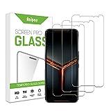 ZCIBN[3 Stück] Panzerglas kompatibel mit Asus ROG Phone 2 Schutzfolie,[9H Festigkeit] [Anti-Kratzen] [Anti-Fingerprint] [HD Klar], Asus ROG Phone 2 Panzerglasfolie