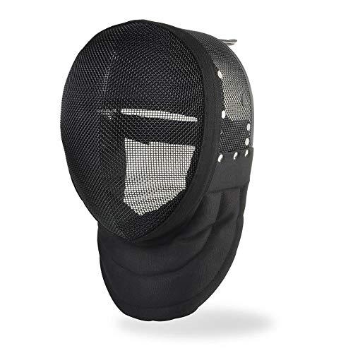 BEYONDTIME Florett Maske CE 350N Zertifizierung Fechtschutzausrüstung Fechtaustattung Non-Removable Lining-L