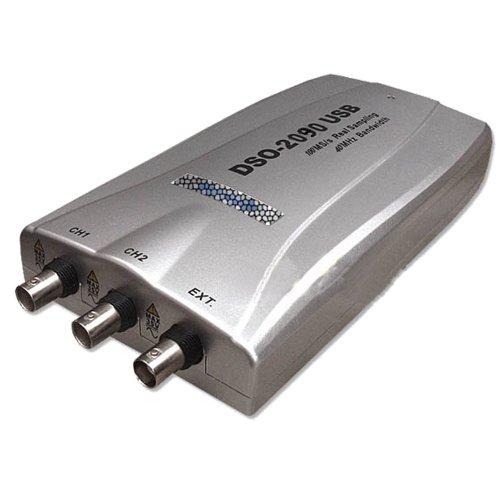 Hantek® DSO2090 - Osciloscopio digital USB (100 Msa/s, 40 MHz, ancho de banda CE