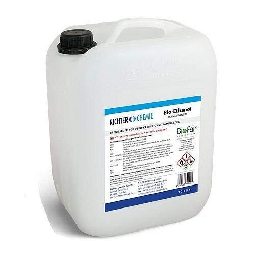 20L (2x10L) Bioethanol 96,6 Prozent - BioFair® - geprüfte Laborqualität