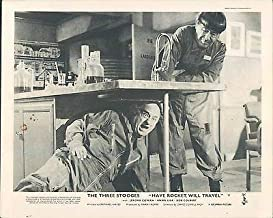 Have Rocket Will Travel Original Lobby Card The Three Stooges MO Larry