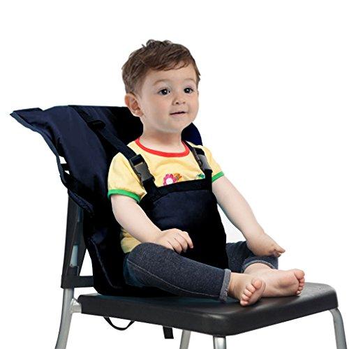 Baby Sitzbezug Reise Kleinkind Hochstuhl Sicherheits Gurt Tragbar Säugling Sack Gürtel,Dunkel Blau