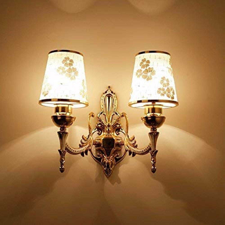 HhGold Die Nachttischlampe Wandleuchte Wand Schlafzimmer Modern, minimalistischen American Creative Lounge Continental Treppe, Lampe, LED Street 4 (Farbe   3)