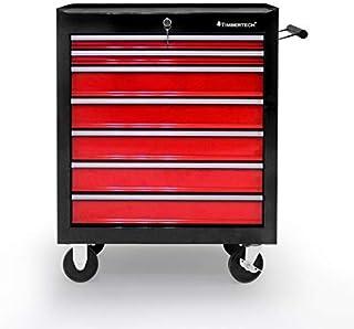 calidad industrial Gummifritz24de Bandeja para herramientas aprox color negro//rojo espuma dura para carro de herramientas 400 x 500 x 50 mm