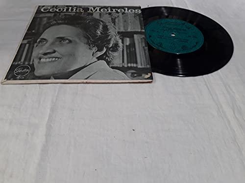 Compacto Cecilia Meireles - Retrato Elegia Para Uma Pequena Borboleta / Eras um rosto na Noite Longa - Soneto nº 2