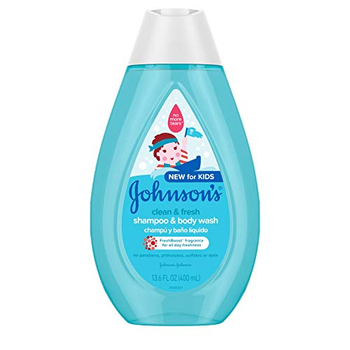 Johnson's Clean & Fresh Children Body Wash + Shampoo