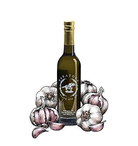 Saratoga Olive Oil Company Garlic Infused Olive Oil 375ml (12.7oz)