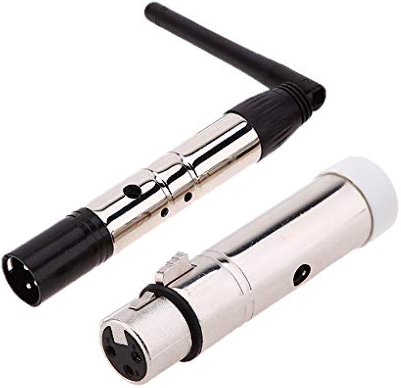 JINHUGU 2.4G DMX512 DJ Wireless System EU US-Stecker Empfnger Sender Controller für LED Bühnenlicht LED-Licht (Farbe   US Transmitter)
