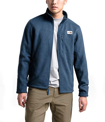 The North Face Men's Gordon Lyons Full Zip Fleece Jacket, Shady Blue Heather, X-Large