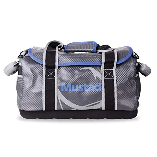 Mustad Dry Bag , Water-resistant 500-Denier Tarpaulin, with Padded Shoulder Straps, 18 inches,...