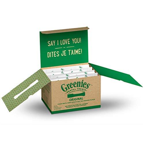 GREENIES Original Regular Natural Dog Dental Care Chews Oral Health Dog Treats, 72 oz. Pack (72 Treats)