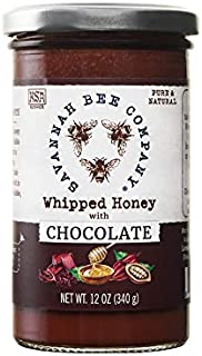Whipped Honey - Chocolate 12 Ounce Tower by Savannah Bee Company