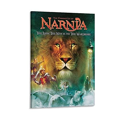 Leinwandposter 'The Chronicles of Narnia', The Lion The Witch And The Wardrobe (Die Chronicles of Narnia), Schlafzimmer, Dekoration, Büro, Raumdekoration, Geschenkrahmen, 50 x 75 cm