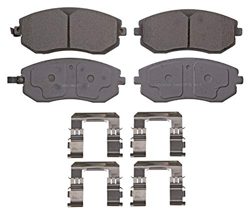 Wagner ThermoQuiet PD929A Ceramic Disc Brake Pad Set
