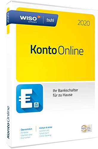 WISO Konto Online 2020 (Buhl Finance) | Box | Standard | Disc in Standardverpackung