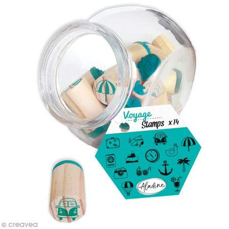 Aladine 85009 Stampo Reiseglas
