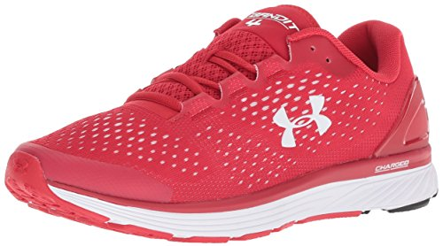Under Armour Men's Charged Bandit 4 Running Shoe, Red (600)/Red, 14