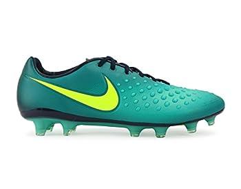 Nike Men s Magista Opus II FG Rio Teal/Volt/Obsidian/Clear Jade Shoes - 10.5A