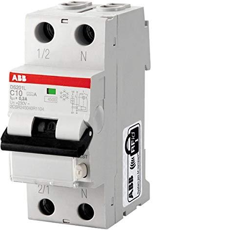 ABB DS202C L INT.DIFF.MAGN 4,5KA 2P AC C20 30MA