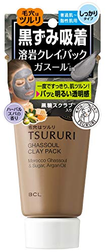 B&C Lab Tsururi Ghassoul Face Mud Mask (Blackcoal with Honey)