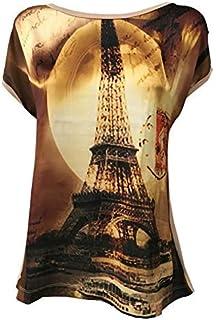 LA FEE MARABOUTEE t-Shirt Donna Tessuto +Jersey 50% Poliestere 45% Viscosa 5% Elastan Made in Italy