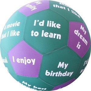 Prodesign 9008 Hands On Icebreaker, Play and Learn Ball, Diameter-35 cm, Multi-Colour