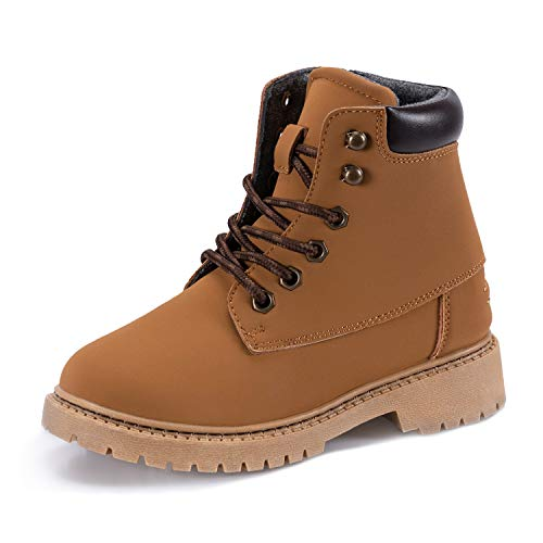 Timberland Boy's Tree Sprout Warm Lined Bootie Ankle Boot, Wheat Nubuck, 045M Medium US Infant