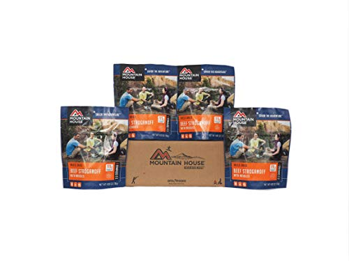 Mountain House Beef Stroganoff with Noodles - 4 Pack